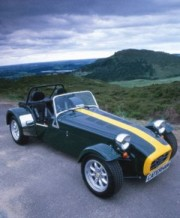 Gerry Enters UK Caterham Championship